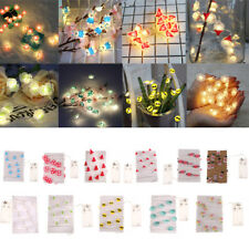2M Warm White 20 LED String Copper Wire Fairy Lights Xmas Christmas Party Lamp