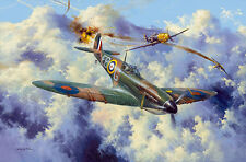 SIMON W. ATACK 'YOUNG ERIC LOCK' SPITFIRE, MERLINS, BATTLE OF BRITAIN, WW2 41SQN
