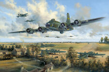 SIMON W. ATACK LIMITED EDITION 'FAREWELL MEMPHIS BELLE'  B-17 BASSINGBOURN