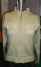 DKNY GIRLS CREAM ZIP THROUGH JUMPER BRAND NEW WITH TAGS age 10 and 14