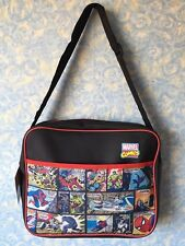 MARVEL SPIDER-MAN COMICS SUPERMAN AVENGERS SCHOOL & GYM BAGS
