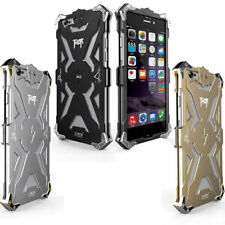 Simon Aluminium Metal Shockproof Iron Man Armor Bumper Case Cover For
