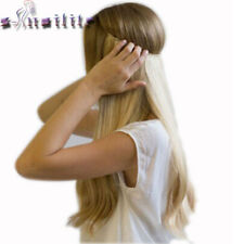 Invisible Secret Hair Extensions Heat Resistant Straight or Curly 10 Colours