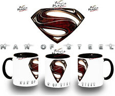 tazza SUPERMAN MAN OF STEEL MUG COLORI coupe tazza tasse vari colors nera