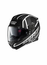 Casco Integrale NOLAN N87 Harp N-Com Corsa Nero- Bianco 020 Full Face Racing