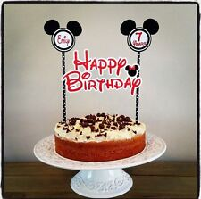 PERSONALISED MINNIE MOUSE CAKE BUNTING Banner Topper Decoration Birthday Party
