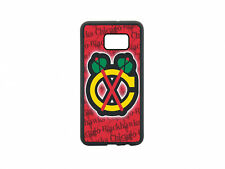 Chicago Blackhawks Phone Case For Samsung Galaxy S8+ S7 S6 Edge S5 Not