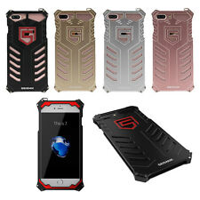 Shockproof Armor Aluminum Alloy Metal Super Man Case Cover for iPhone