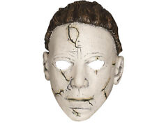 Official Halloween 2 Michael Myers Rob Zombie Latex Hair Scar Elastic Face Mask
