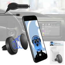 Magnetic Air Vent In Car Holder & Charger For Samsung Google Nexus S I9020A