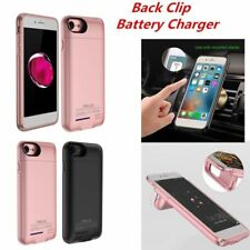Charging Battery External Power Bank Back Charger Case Cover For iPhon