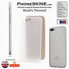 PhoneSKINe TRANSPARENT Silicone Apple iPhone case iphone 7 7 plus, 6s Iphone 6s+
