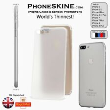 PhoneSKINe TRANSPARENT Apple iPhone case 8 8 Plus  7 7 Plus 6s 6s plus 6 6 Plus