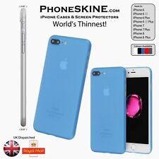 PhoneSKINe BLUE Silicone Apple iPhone case iphone 7, 7 plus, 6s, 6s plus, 6, 6+