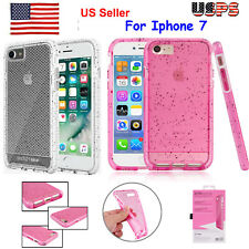 US Tech21 Evo Check Shockproof Protection Slim Case For iPhone 7 Pink/