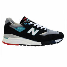 New Balance 998 Made in USA - Black/Teal