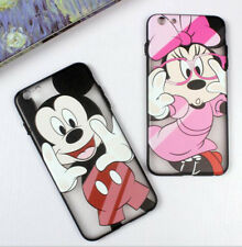 Disney Series Mickey&Minnie TPU Etuis Housses Coques iPhone 8 6/6S Plus iPhone7