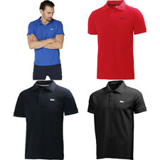 Helly Hansen Mens Driftline Quick Dry Short Sleeve Poly Polo Shirt