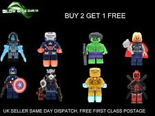 Marvel DC Minifigures Avengers Super Hero Mini Figures Compatible with Lego