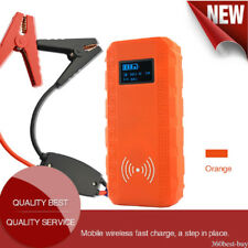 13500mAh Emergency Car Jump Starter Booster Wireless Charging Power Bank Charger