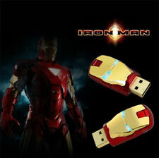32/64/128GB MARVEL IRON MAN FLASH DRIVE USB 2.0 PEN STORAGE MEMORY STICK 128 GB