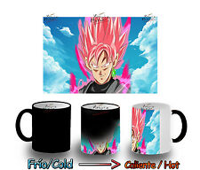 TAZZA MAGICA SUPER SAIYAN ROSE PINK DRAGON BALL MAGIC MUG tazze E'