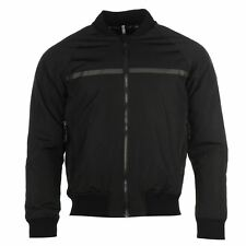 Henri Lloyd Bomber Jacket Keel Lightly Paded Black Mens Size Medium Brand New