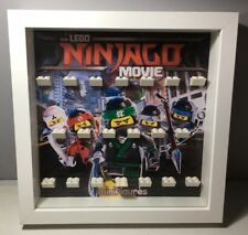 Cornice Vetrina Display Case Lego Minifigures Serie 71019 NINJAGO MOVIE - NEW!!