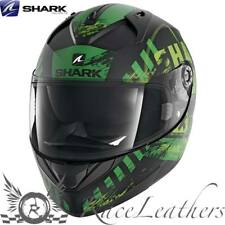 SHARK ridill Riddle skyd Negro Verde Moto Casco de Scooter