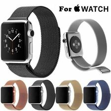 42mm GENUINE MILANESE LOOP 316L FOR APPLE WATCH STAINLESS STEEL MAGNETIC STRAP