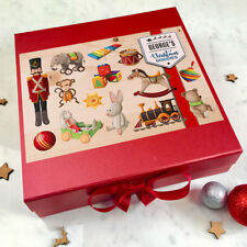 Christmas Eve Box Personalised, Fill it with Toys Gifts, Christmas eve boxes