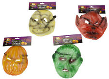 Deluxe PVC Halloween Horror Mask Assortment