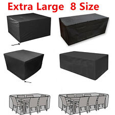 Waterproof Outdoor Garden Patio Furniture Cover Covers for Rattan Table Cube UK