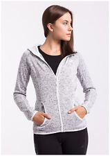 NEW-4F PLD002 H4Z17 Women's fleece,jacket,hoodie,Microtherm Extreme® GRAY