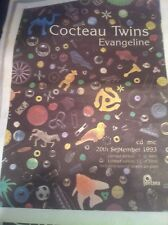 < COCTEAU TWINS - EVANGELINE - original music magazine advert / small poster