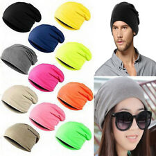 Mens Slouch Skull Cap Oversize Winter Warm Beanie Women Baggy Cap Knit Ski Hat