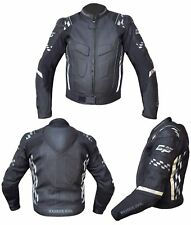 RUSH GP Motorcycle Motorbike Leather CE Armour Professional Biker Jacket