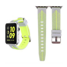 Silicone Strap Wrist Band Accessories For Apple Watch 42mm/38mm Series 1,2
