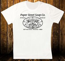 CARTA STRADALE SOAP CO. Fight Club Retro Vintage Hipster Unisex T SHIRT 1069