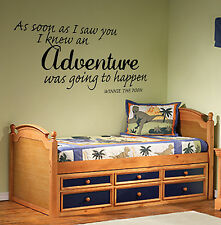 As Soon As I Saw You adhesivo pared Winnie the Pooh infantil Vinilo Mural wa425