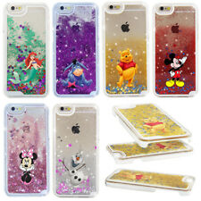 For Apple iPhone 8 7 6s plus Glitter Cartoon Case Cover Minnie Mickey Case Cover