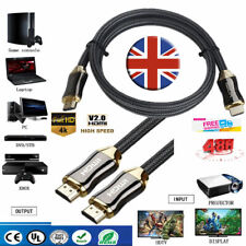 HDMI Cable Premium Ultra HD v2.0 High Speed Ethernet HDTV 2160p 4K 3D GOLD