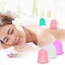 Silicone Massage Vacuum Body Facial Cup Anti Cellulite Cupping UK Anti Ageing UK