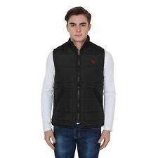 BRANDED SURPLUS HIGH QUALITY REASONABLE PRICE SLEEVELESS BLACK QUILTED JACKET