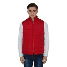 BRANDED SURPLUS HIGH QUALITY REASONABLE PRICE SLEEVELESS RED QUILTED JACKET