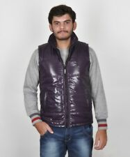 BRANDED SURPLUS HIGH QUALITY REASONABLE PRICE SLEEVELESS PURPLE QUILTED JACKET