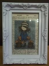 FRAMED GORJUSS VINTAGE DICTIONARY PAGE ART - Free P&P