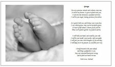 Personalised Christening Poem gift Godfather/mother/parent to Godson/Daughter