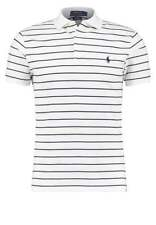Ralph Lauren Slim Fit Striped Detail Polo BNWT Designer Mens Top Clothing