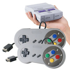 2Tlg Wired Controller Für Super Nintendo Entertainment System SNES Mini Classic